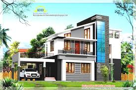 kerala home design house plans modern duplex villa elevation kerala home design house plans
