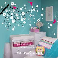 Nursery Wall Decorations Shop Cherry Blossom Nursery Decor On Wanelo