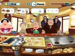 jeux restaurant cuisine jeu joyeux chef alawar