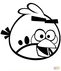 angry birds coloring pages red angry bird printable angry
