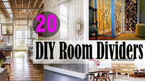 diy room divider 20 diy room dividers to help utilize every inch of your home youtube
