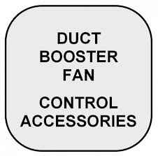 air duct assist fan duct booster fan pressure activation switches variable speed