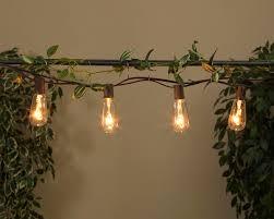 edison bulb patio lights edison st40 bulb string lights 2201330
