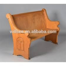 chaise d église ch b067 bois banc d église de l église en bois banc église en bois