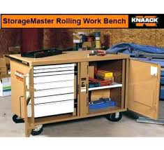 rolling work table plans rolling workbench with storage rolling workbench with storage