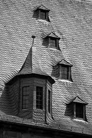 attic windows in slate roof stock photos image 1532533