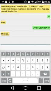 cleverbot apk cleverdroid cleverbot client apk free tools app for