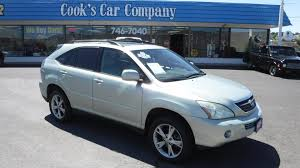 lexus hybrid used car prices 2006 lexus rx400 hybrid awd 4dr sport utility wagon 1 owner used