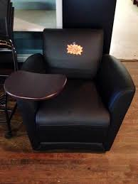 Used Office Furniture Nashville by Mayline Mobile Lounge Chair With Tablet Arm Www Bfwnashville Com