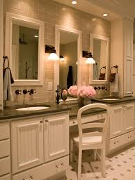Chair For Bathroom Vanity by Double Sink Vanity With Makeup Table Ideas And Bathroom White