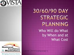 30 60 90 day planning