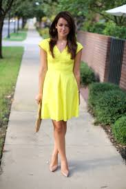 what colors go with yellow what colour shoes to wear with canary yellow dress style guru