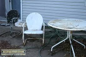 vintage metal patio furniture mopeppers 857c40fb8dc4
