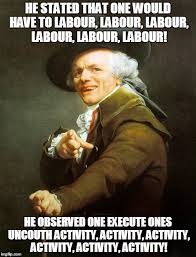 Work Work Work Meme - rihanna work joseph ducreux archaic rap meme imgur