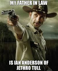 Father In Law Meme - will try to take my phone i dare you meme walking dead rick