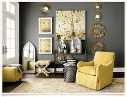 yellow living room staggering brown and yellow living room plain design decorating
