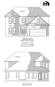 Estate House Plans by Plan No 2656 0807