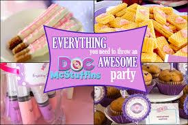 doc mcstuffins party doc mcstuffins party ideas brownie bites