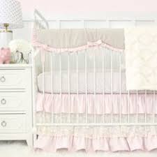 White Crib Set Bedding Blush Pink Gold And White Amelia Baby Bedding 9pc Crib
