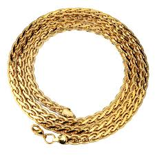 aliexpress buy nyuk new fashion american style gold nyuk new copper lace embossed chain gold jewelers bling hip hop 75cm
