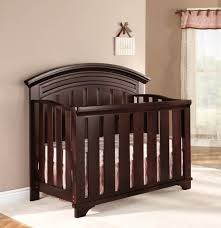 Baby Cache Lifetime Convertible Crib by Westwood Geneva Collection Convertible Crib Chocolate Mist