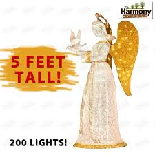 Outdoor Christmas Decorations Lighted Presents by Christmas Angel Outdoor Decoration U2013 Decoration Image Idea