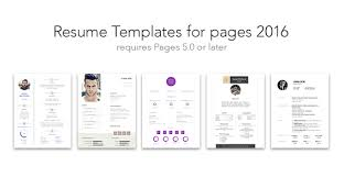 resume template for pages free creative resume templates for