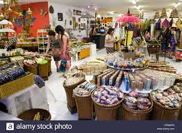 home decor indonesia home decor store interior centro mall kuta bali indonesia stock