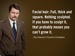 ron swanson says