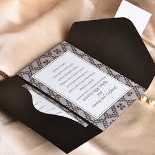 Wedding Invitation Pocket Envelopes Short And Sweet Pocket Wedding Invitations Ukps013 Ukps013