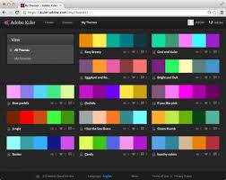 color combination finder how to use kuler for color palettes blog fashionclassroom com