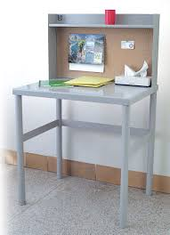 Desk With Top Shelf Correctional And Detention Facilities Desks
