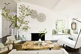 fireplace trends living room trends mid century modern sofa indoor plants ideas