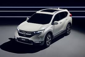 New Honda Crv Diesel Hybridised Honda Suv New Cr V Hybrid Prototype Hits Frankfurt By