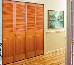 Wooden Closet Door Shutter Sliding Doors Closet Pilotproject Org