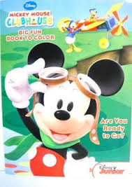 disney mickey mouse clubhouse coloring book wishing stars