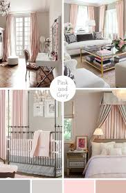 the pink doormat pink and grey interior design color combination