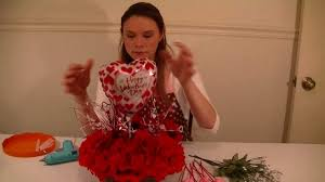 Valentine S Day Tree Decor by Dollar Tree Valentines Day Table Centerpiece Project Video Youtube