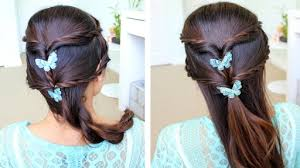step by step hairstyles for long hair with bangs and curls how to do fancy rope braid half updo hairstyle for medium long