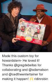 Meme Custom - made this custom toy for howardstern he loved it thanks for