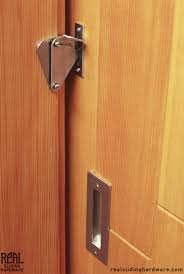 Sliding Bathroom Door by Teardrop Privacy Lock For Sliding Doors Locks Doors And Hardware