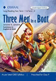 three men in a boat term 1 u0026 2 summary in english u0026 hindi for