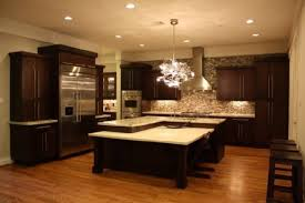kitchen ideas with brown cabinets kitchen countertops cabinets island color glass dark brown kitchen