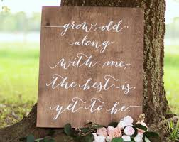 wedding quotes signs welcome to our beginning wedding sign wooden wedding welcome