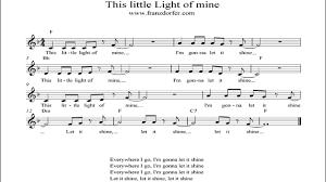 This Little Light Of Mine Instrumental Youtube