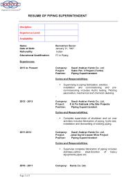Resume Of Mine Bannichan Savier Cv