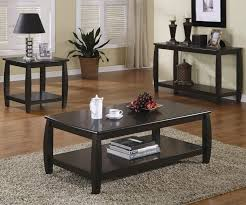 table in living room coffee table living room without coffee table black wood glass top