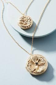 medallion pendant necklace images Double medallion pendant necklace anthropologie