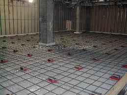 lift slab concrete floating floor system lsm