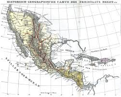 Old Mexico Map by Washington County Maps And Charts